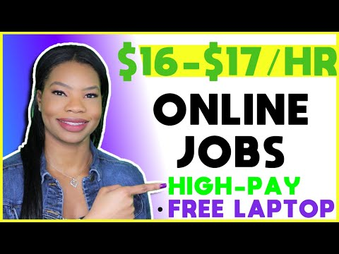 🏡 No Experience Work-From-Home Jobs. FREE LAPTOP! 💻   Apply ASAP!!