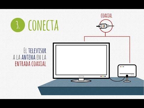 Instalación señal TDT con solo antena