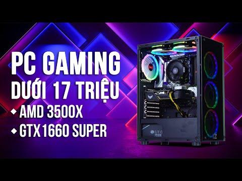 PC GAMING AMD RYZEN 5 3500X / GTX 1660 - NGUYỄN CÔNG PC
