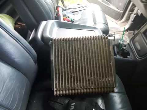 Silverado Evaporator Replacement Trick (Replace Without