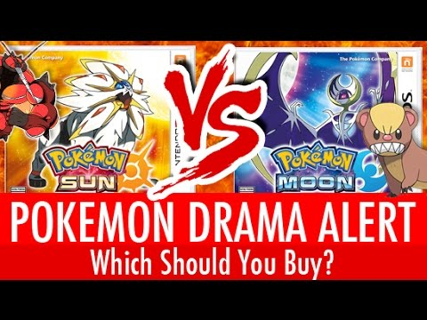 pokemon sun vs pokemon