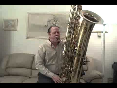 contraBass sax Really Big Blues.mp4