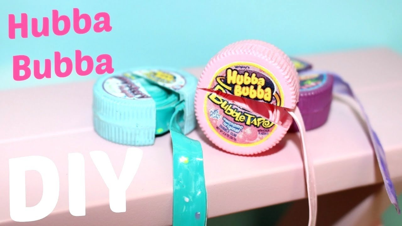 Diy American Girl Doll Hubba Bubba Gum Youtube