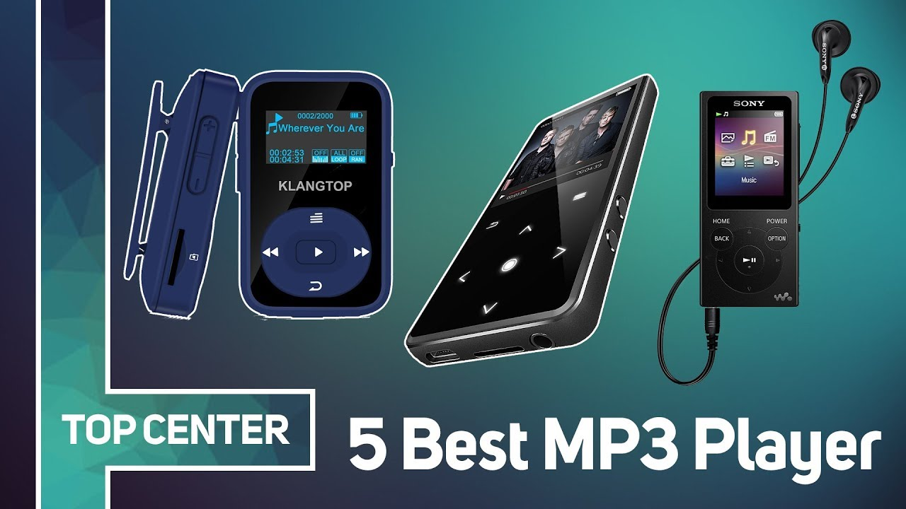top 5 best mp3 player of 2018 youtube. Black Bedroom Furniture Sets. Home Design Ideas