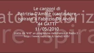 """""""44 gatti"""" di Patrizio d"""