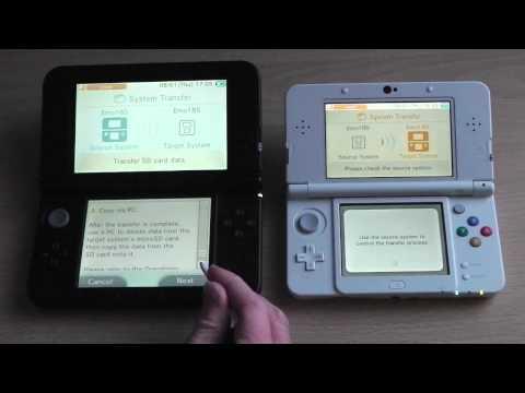 New Nintendo 3DS / 3DS XL Transfer Process Walkthrough (3DS) [HD]