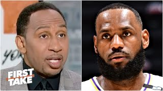 Stephen A. is not picking the Lakers to win the West right now | First Take