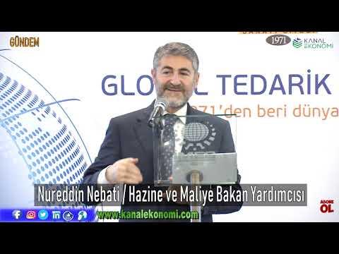 Hazine ve Maliye Bakan Yardımcısı Nureddin Nebati, İMES'te konuştu..