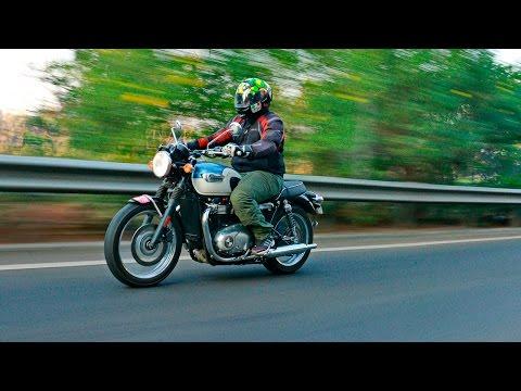 Triumph Bonneville T100   Road Test Review   ZigWheels