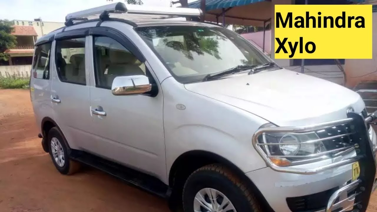 Mahindra Xylo second hand car sales in tamilnadu/used Xylo car sales