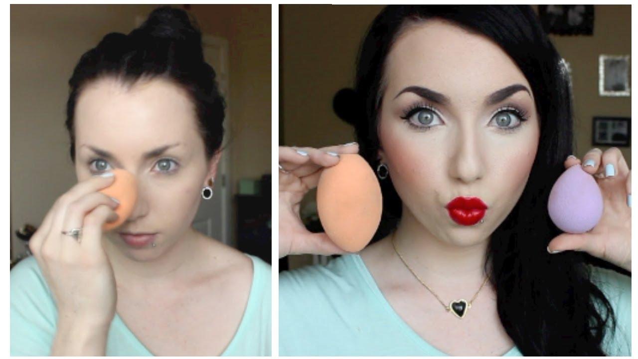 Why do you need sponge makeup?