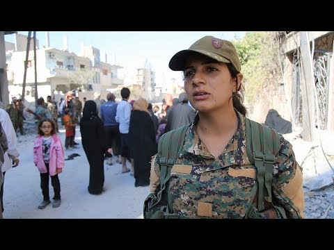 YPJ fighter in Raqqa: Updates on civilians' rescue
