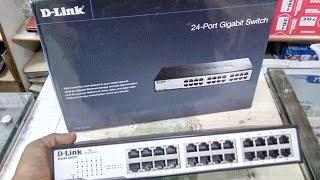 Unboxing D Link 24 Port Network Switch (DGS 1024D)