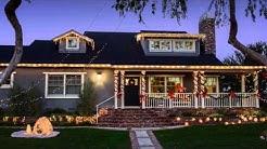 Outside Christmas Light Ideas - Spectacular Photos