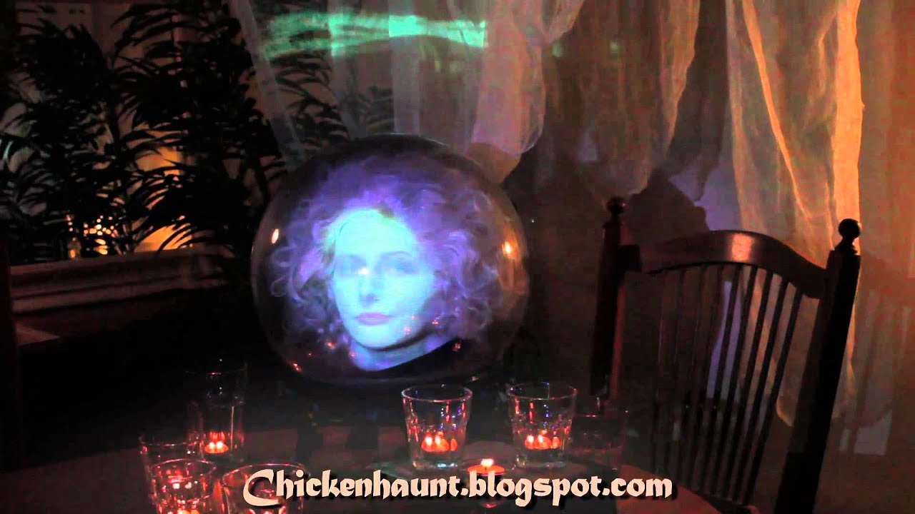 Halloween Dvd Projection