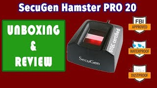 SecuGen Hamster Pro 20 - Unboxing & Review STQC certified FingerPrint Scanner Windows Hello