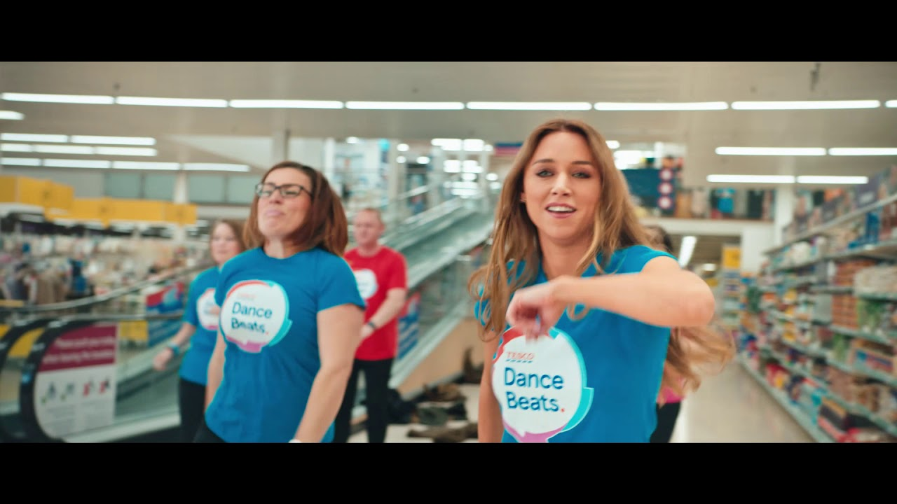 Tesco Dance Beats Super Group Performance