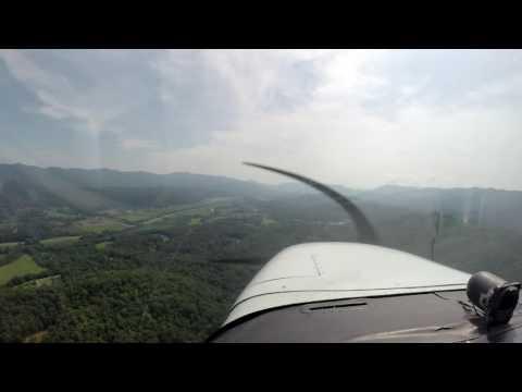 C172 Flight Western Carolina to Blairsville, GA