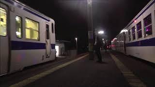 日田彦山線の浮かれイルミネーション列車