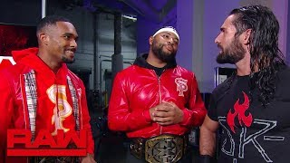 The Street Profits bump into Seth Rollins: Raw, July 29, 2019