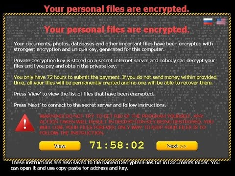 How to Remove encrypted by CTB-Locker virus from your desktop and recover your missing file