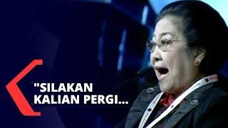 Megawati: Silakan Kalian Pergi, Keluar dari PDI Perjuangan