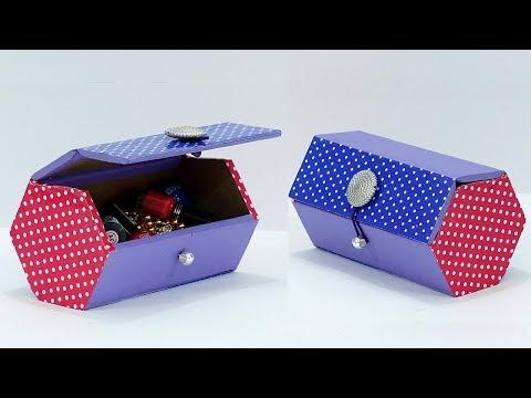 Best out of Waste MultiPurpose DIY Organizer | Handmade Storage Box | DIY Cardboard Craft Idea