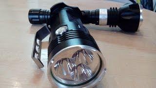 Мощный светодиодный фонарь-прожектор 5000 Люмен.Товар с Китая.(, 2014-01-11T06:53:17.000Z)
