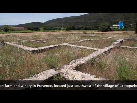 Villa Marius, Gallo Roman farm, La roquebrussanne