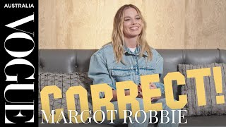 Margot Robbie plays a game of Hollywood trivia   Interview   Vogue Australia