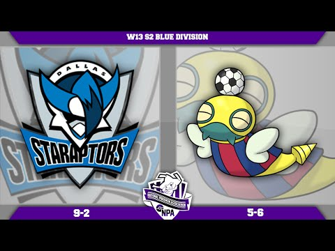 [NPA S2W13 Battle] Dallas Staraptors VS Dunsparcelona! Live ORAS Wifi Battle!