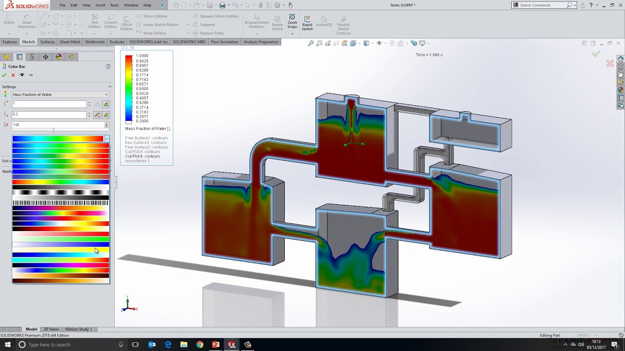 What's New SOLIDWORKS 2018 - 06: Flow Simulation