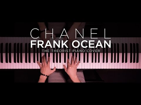 Frank Ocean - Chanel   The Theorist Piano Cover