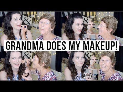 Grandma Does My Makeup!! | ohhitsonlyalice
