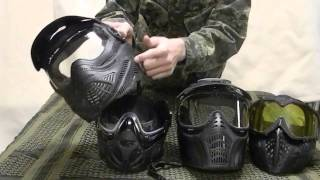 How to choose your paintball mask