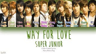Super Junior - Way For Love