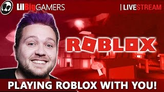 PLAYING ROBLOX WITH YOU! (1000 Subs!! ) | Roblox Games