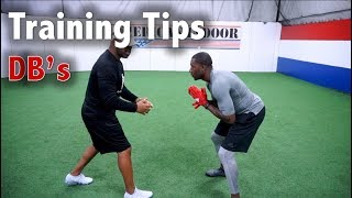 5 Tips to be a Better Defensive Back - Football Tip Fridays