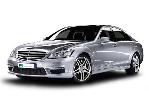 Замена лобового стекла на Mercedes-Benz S-класс в Казани.