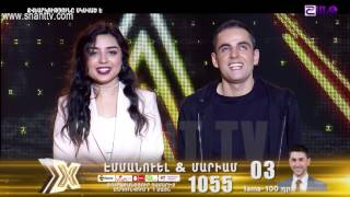X-Factor4 Armenia-Gala Show 8-Emanuel & Mariam-Miss Independent 09.04.2017