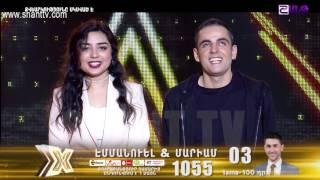 X-Factor4 Armenia-Gala Show 8-Emanuel & Mariam-Miss Independent 09.04.2017
