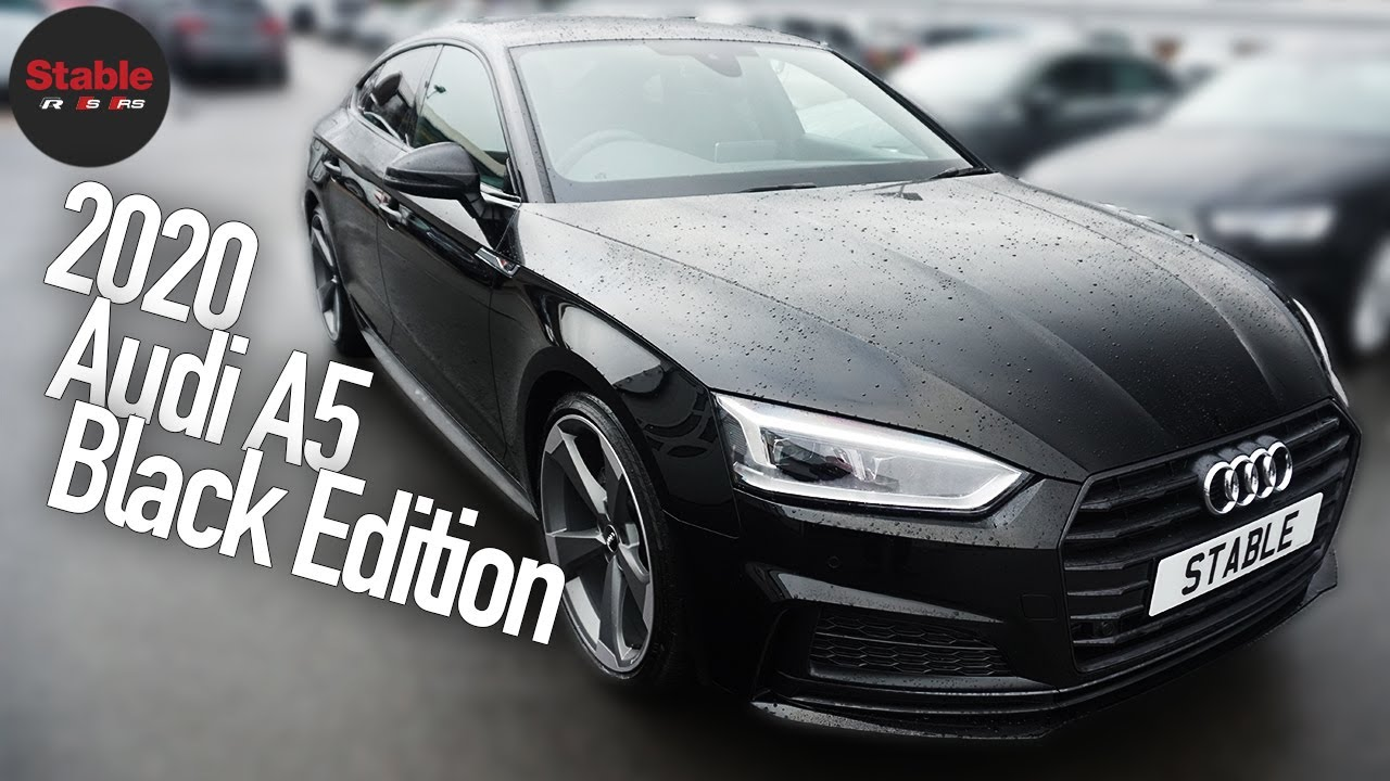 2020 Audi A5 Black Edition | Stable Lease - YouTube | Audi A5 Sportback Black Edition |  | YouTube