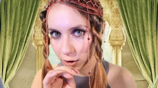 Russian ASMR DREAMING -  Helping YOUR MAJESTY Fall Asleep - Ear Cleaning, sponge, pleasant sounds