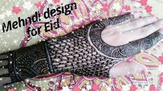 Easy Mehndi design for Eid❤|| Most popular desing || jazz Beauty World