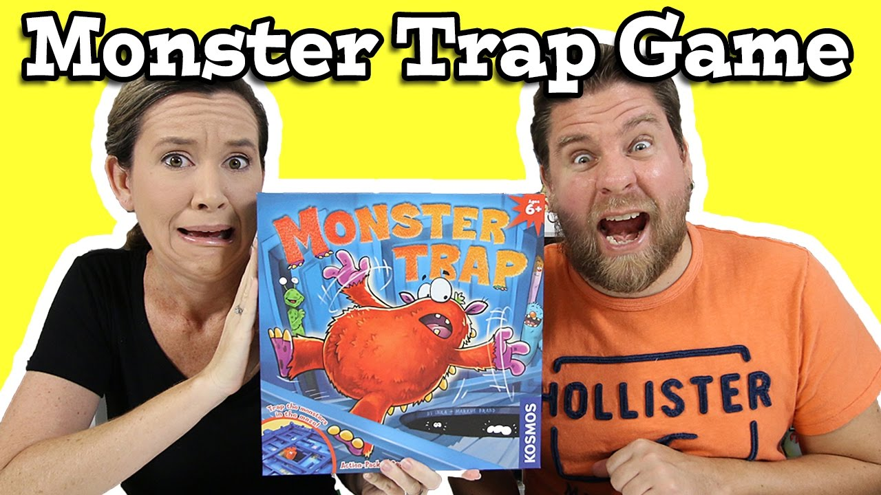 Monster Trap Game – Trap The Monster In The Maze