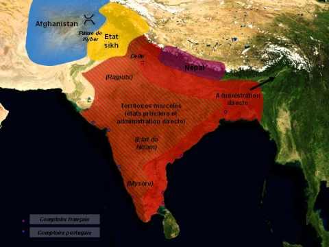 INDE Histoire - Formation de l'Empire des Indes