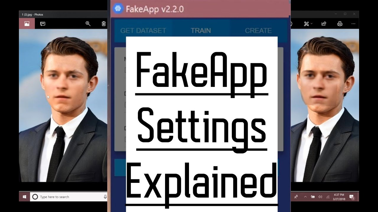 FakeApp Settings : Nodes Layers BatchSize Direction Seamless Blur and  Kernel size explained