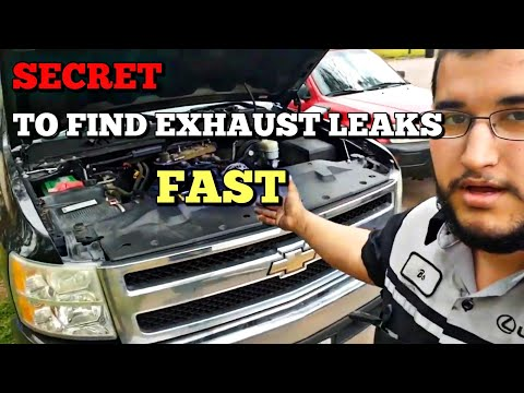 Flipping A Silverado Episode 10 - Simply Finding Exhaust Leaks - Manifold Leak