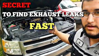 Simply Finding Exhaust Leaks - Manifold Leak /Flipping A Silverado Episode 10