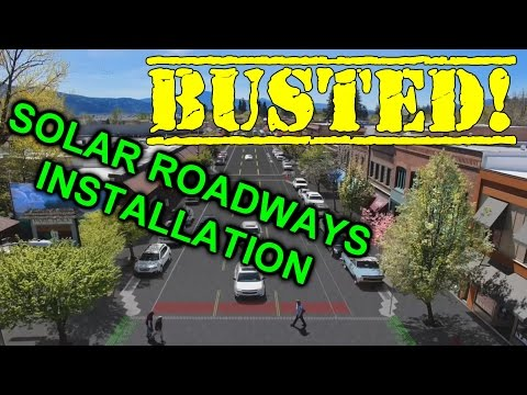 EEVblog #935 - Solar Roadways Installation BUSTED!
